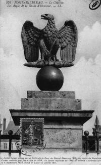 Photograph of a Napoleonic eagle
