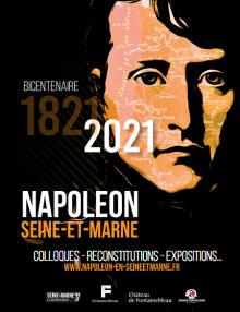 Affiche du bicentenaire de la mort de Napoléon 2021