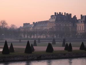 Le château de Fontainebleau et le Grand Parterre