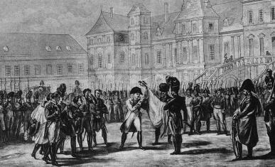 Gravure représentant Napoléon Ier