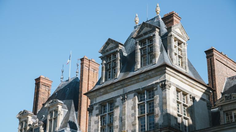 Partie du château de Fontainebleau